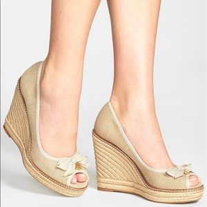 Tory Burch Jackie Wedge Espadrille